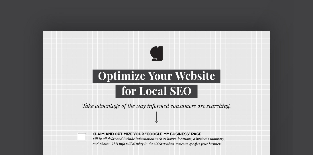 Local SEO checklist preview